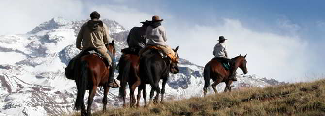 Argentina - Across the Andes on horseback